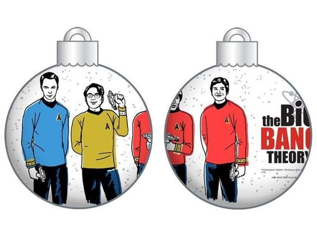 Big Bang Theory Star Trek Group With Stars Ornament