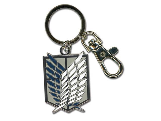 Attack On Titan Scouting Legion Emblem Keychain