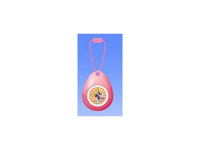 Super Mario Mini Sound Drop Swing Clip On Keychain Princess Peach