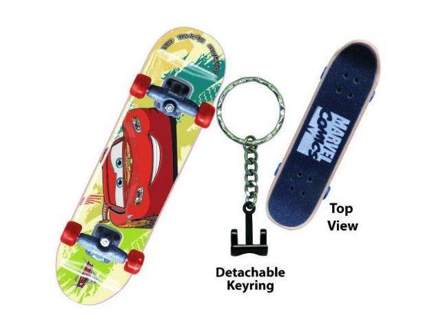 Disney Cars 2 Mcqueen Skateboard Key Ring