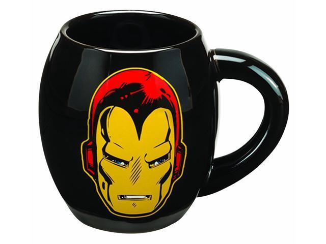 Marvel Iron Man 18 Oz Oval Ceramic Mug