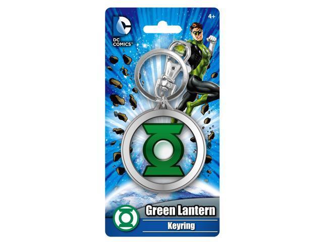 DC Comics Green Lantern Logo Pewter Key Ring