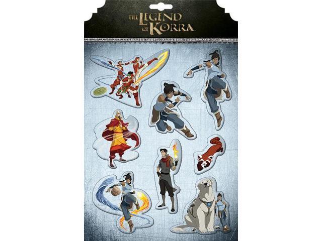The Legend Of Korra Magnet Set