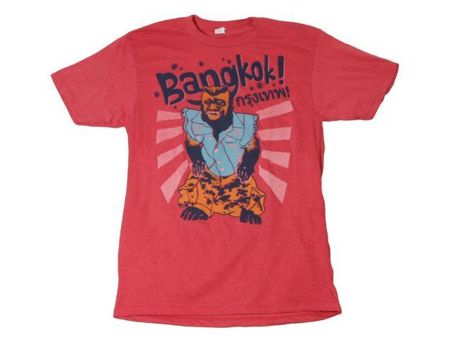 Hangover 2 Bangkok Monkey Red Adult T-Shirt Medium