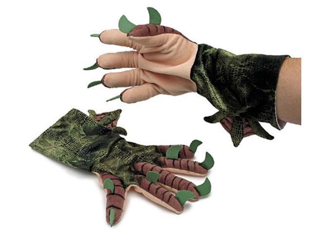 Cthulhu Plush Gloves Adult