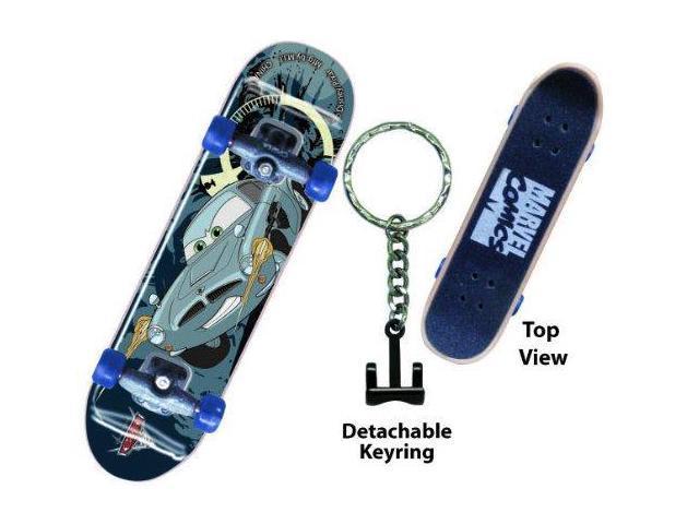 Disney Cars 2 Professor Z Skateboard Key Ring