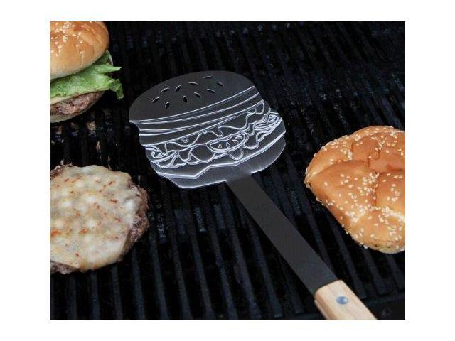 Burger Flipper Stainless Steel Spatula