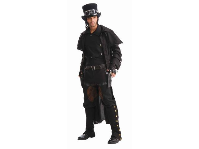 Steampunk Double Thigh Holster Set w/Belt Costume Accessory