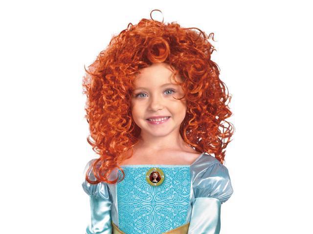 Disney Brave Merida Costume Wig Child One Size