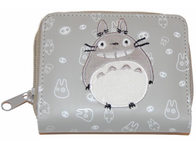My Neighbor Totoro Embroidered Zipper Wallet
