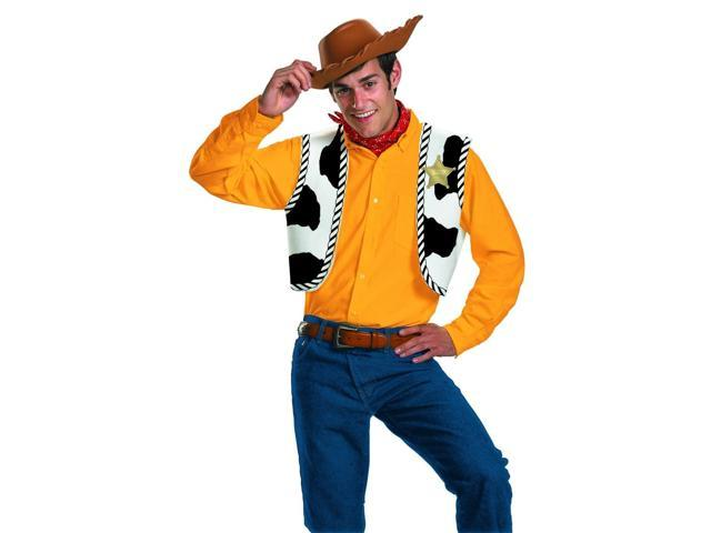 Toy Story Woody Adult Costume Kit One Size Fits Most