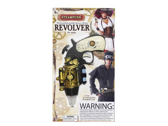 Steampunk Revolver Costume Weapon Accessory