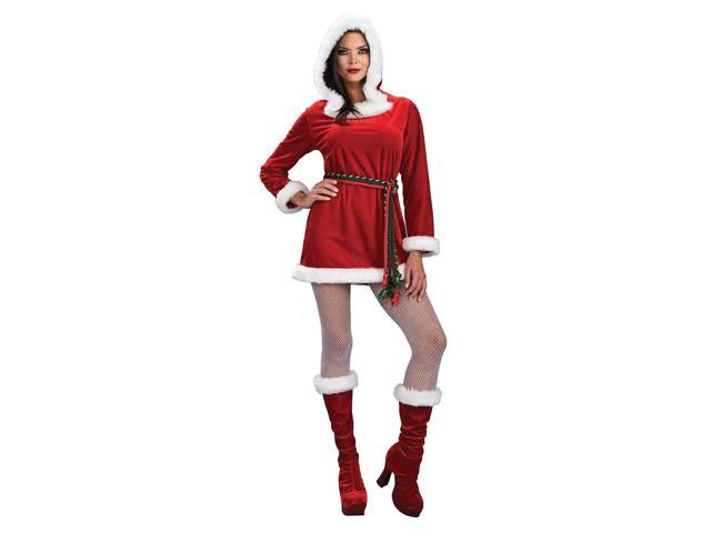 Miss Noelle Sexy Santa Christmas Adult Costume Small