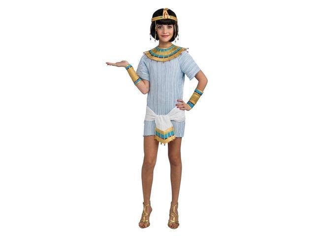 Cleopatra Queen Of The Nile Dress Costume Tween Small