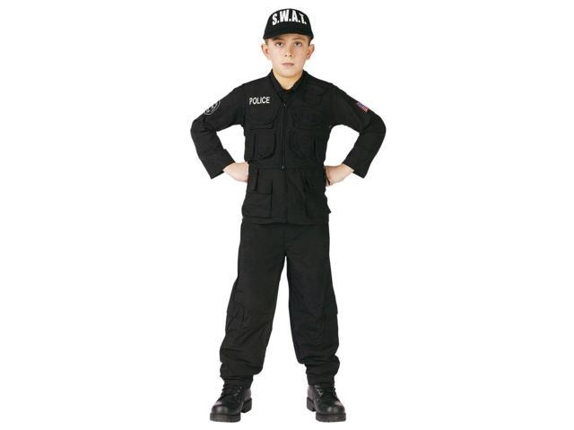 AUTHENTIC S.W.A.T. Team Boy Child Costume Small
