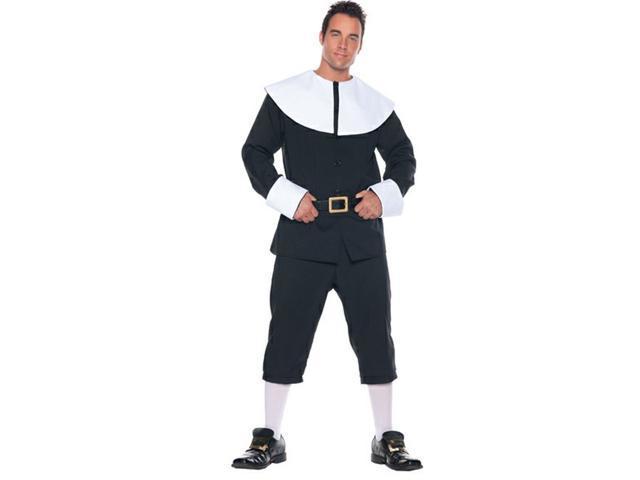 Thanksgiving Pilgrim Man Costume Adult Standard