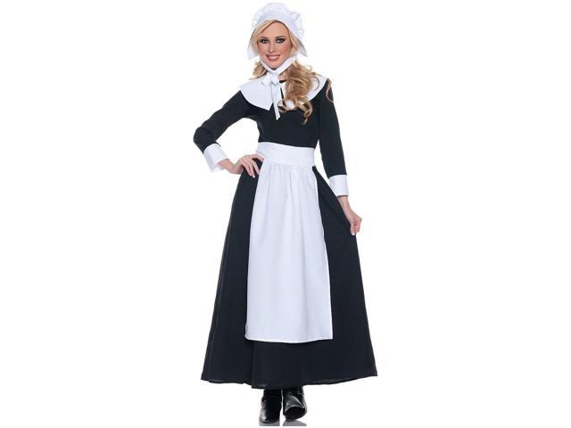 Thanksgiving Pilgrim Woman Costume Adult X-Large