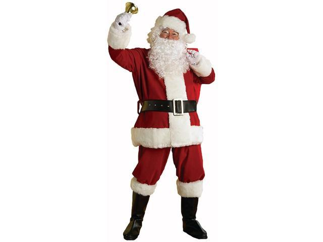 Regal Deluxe Plush Santa Suit Adult Costume XX-Large