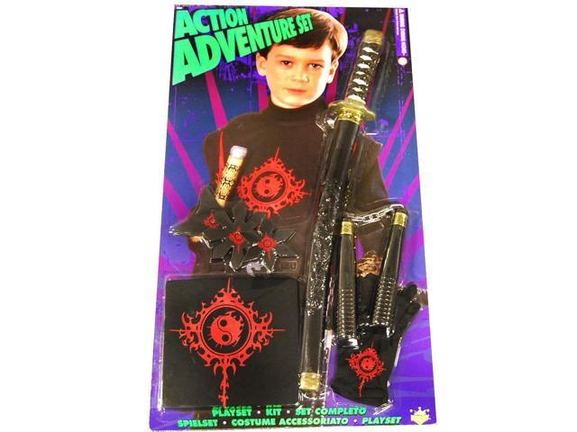 Action Adventure Ninja Blister Child Costume Set One Size