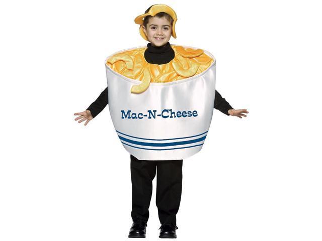 Mac & Cheese Costume Child 4-6