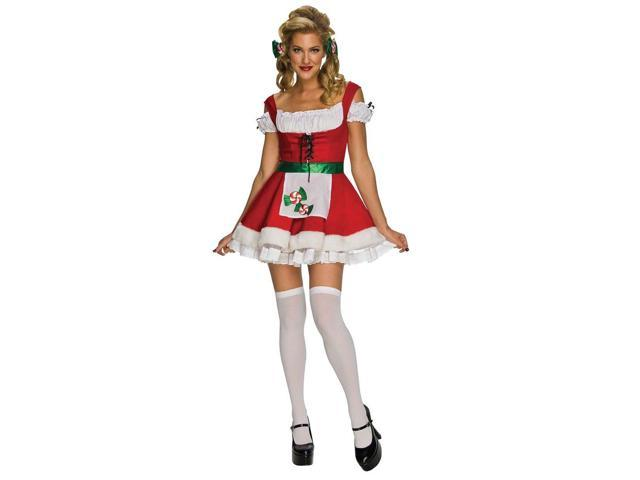 Sexy Christmas Peppermint Candy Dress Adult Costume X-Small