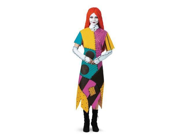 Nightmare Before Christmas Sally Adult Costume Standard 12-14