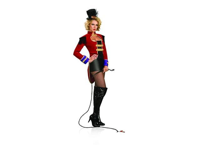 Sexy Circus Ring Mistress Master Costume Adult Small