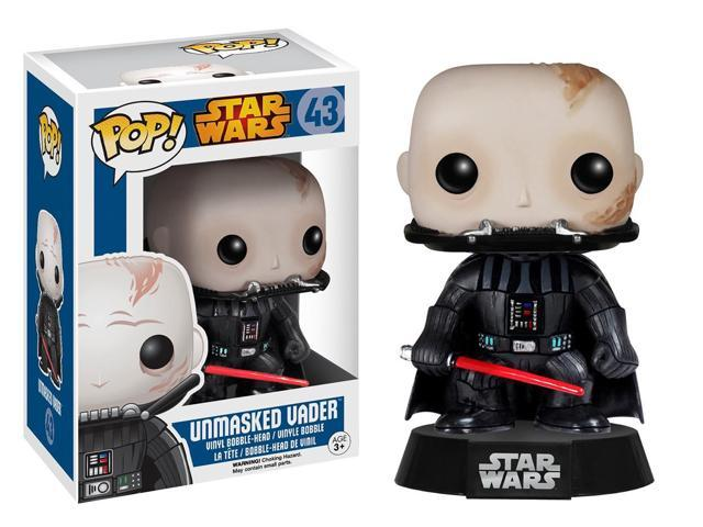 Star Wars Funko POP Vinyl Figure: Unmasked Darth Vader