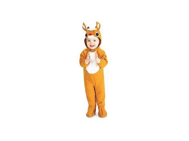 Reindeer Costume Toddler 6-12 Months