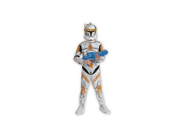 Star Wars Animated Clonetrooper Commander Cody Child Costume Large