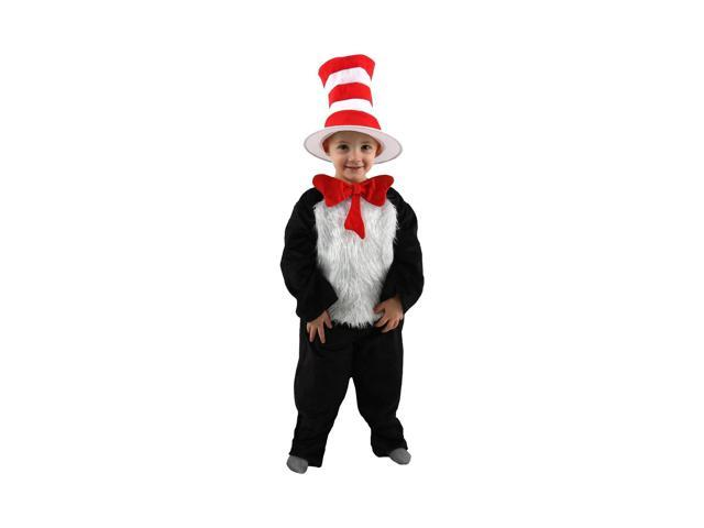 Dr. Seuss Cat In the Hat Costume Infant 2T-4T