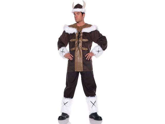 Viking Warrior Man Tunic Costume Adult Standard