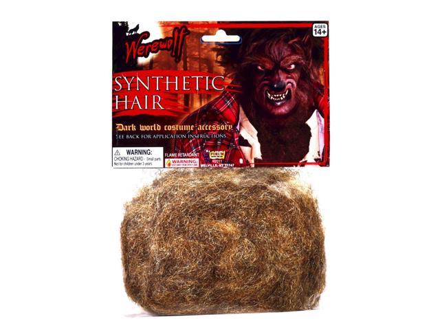 Werewolf Synthetic Hair Costume Accessory