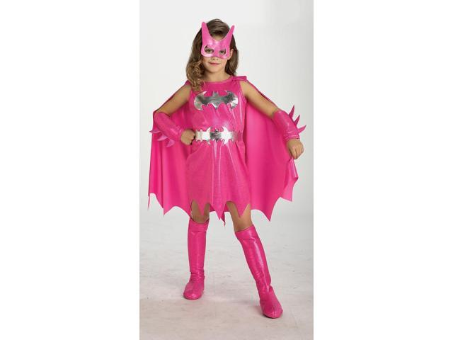 Batgirl Pink Toddler Costume 2T-4T
