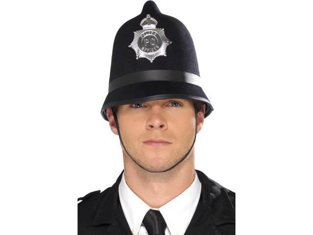 Felt Bobby Costume Police Officer Hat