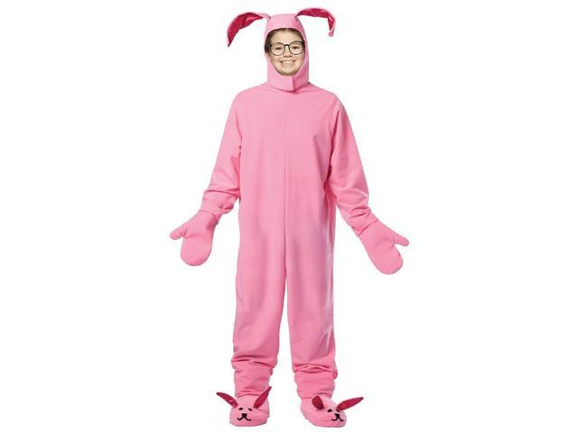 A Christmas Story Bunny Suit Child Costume 7-10