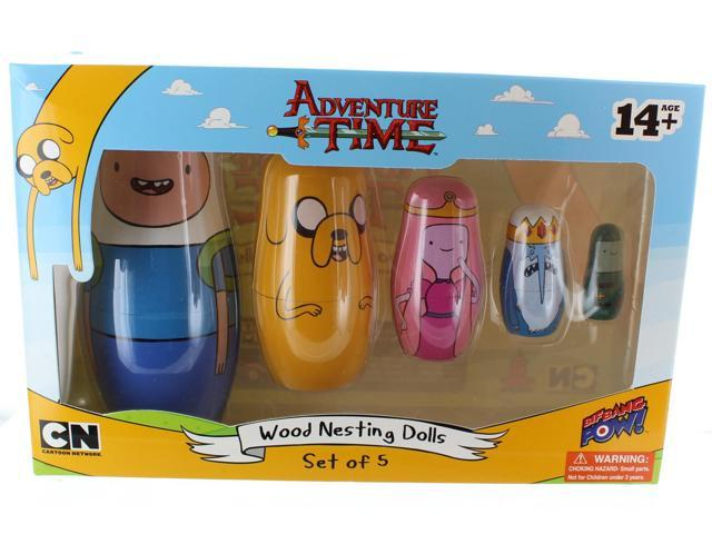 Adventure Time Wood Nesting Dolls: Set of 5