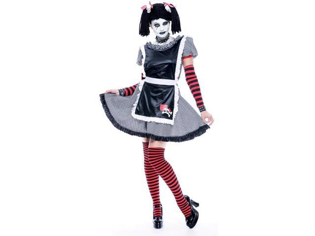 Gothic Rag Doll Costume Adult Medium