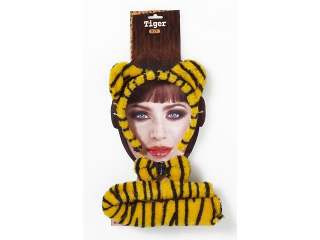 Animal Costume Accessory Kit Adult: Tiger One Size