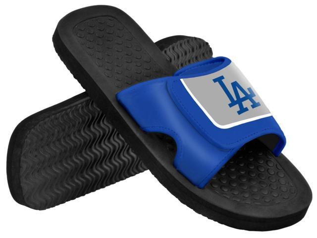 Los Angeles Dodgers MLB Mens Shower Slide Flip Flops Large