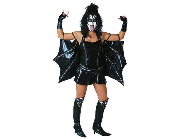 KISS Sexy Demon Adult Womens Costume Small