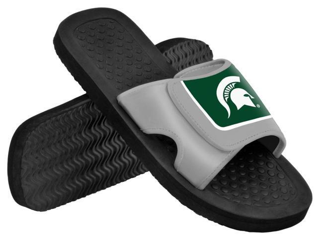 Michigan State NCAA Mens Shower Slide Flip Flops Small