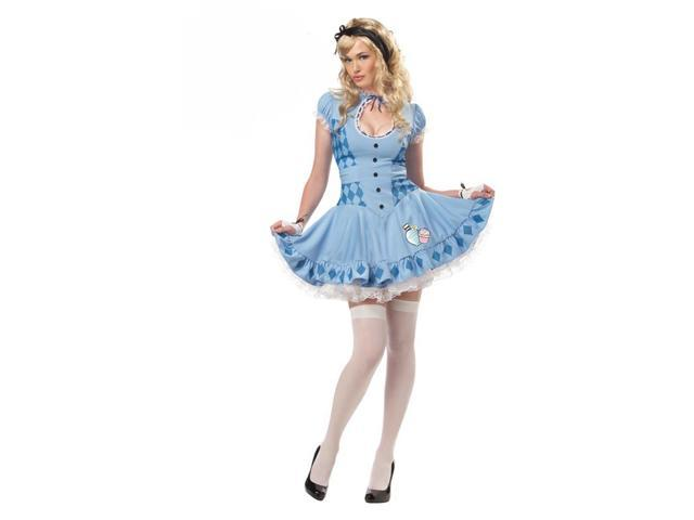 Sweet Alice Wonderland Dress Costume Adult Large 10-12