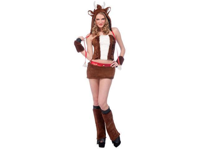 Sexy Reindeer Adult Costume Medium/Large