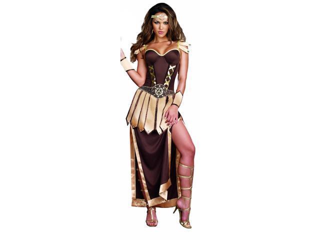 Sexy Trojan Warrior Convertible Dress Costume Adult X-Large 14-16