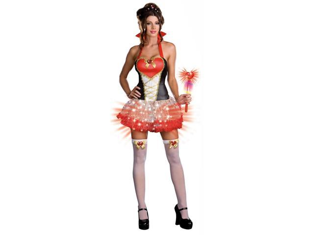 Sexy Queen Of Heart Breakers Costume Adult Large