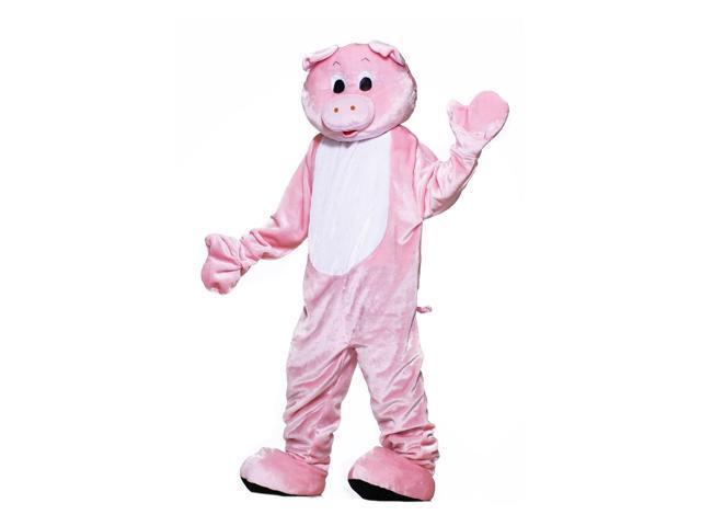 Deluxe Pig Mascot Adult Costume Standard