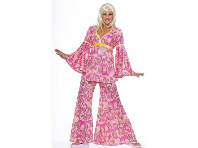 Flower Power Hippie Adult Costume Standard