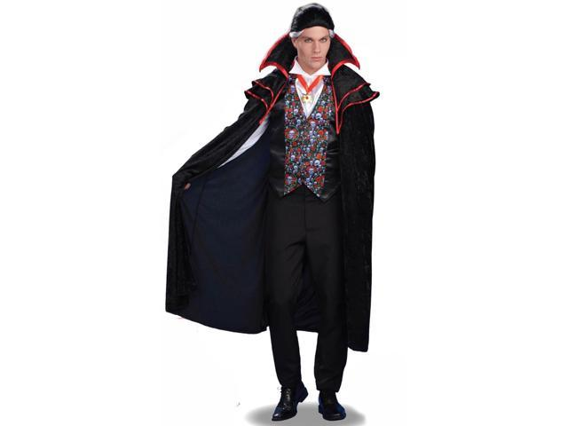 Baron Von Blood Vampire Costume Adult Plus Size