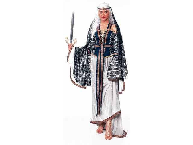 Medieval Fantasy Lady Of The Lake Adult Costume One Size